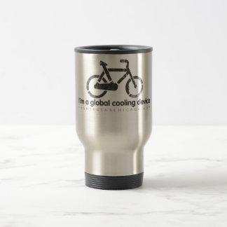 I'm a global cooling device Travel Mug