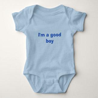 I'm a good boy baby bodysuit