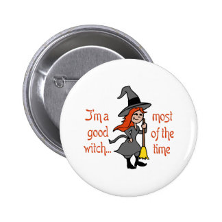 IM A GOOD WITCH PIN