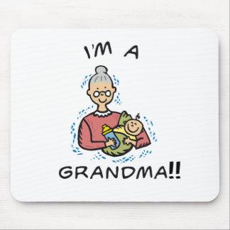 I'm a Grandma-Grandma and Baby Mouse Pad