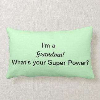 I'm a grandma! lumbar pillow