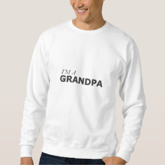 I'M A GRANDPA/LUNG CANCER SURVIVOR SWEATSHIRT