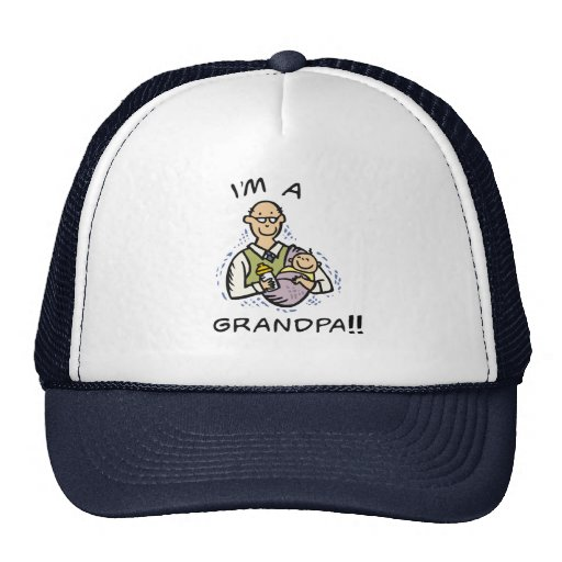 I'm a Grandpa T shirts and Gifts Trucker Hat