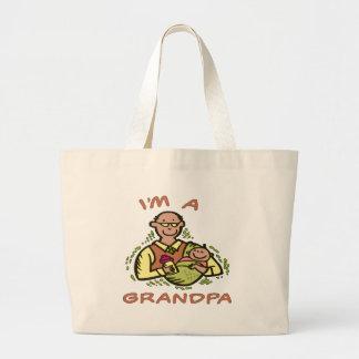 I'm A Grandpa Tote Bag
