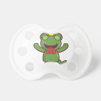 I'm a Green Frog BooginHead Pacifier