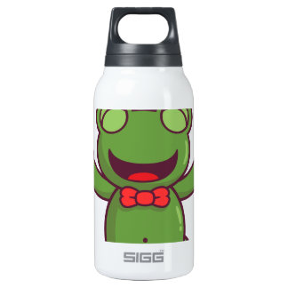 I'm a Green Frog Insulated Water Bottle