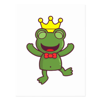I'm a Green Frog Postcard