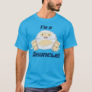 """I'm a  Gruncle!"" with a cute monster T-Shirt"