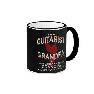 I'm a guitarist grandpa... ringer coffee mug
