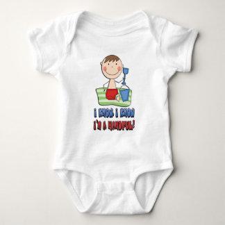 I'm A Handful Baby Bodysuit