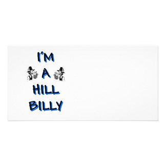 I'm a hillbilly card