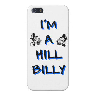 I'm a hillbilly cover for iPhone SE/5/5s