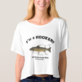 I'm a HOOKER! Kricket Kountry Fishing Tours! T-shirt