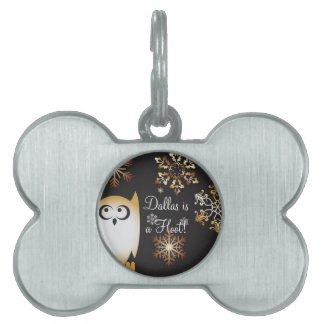 I'm a Hoot! Owl Lovers Punny Holiday Owl Pet Tag
