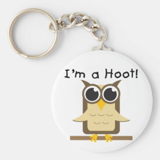 I'm a Hoot T-shirts and Gifts Keychain