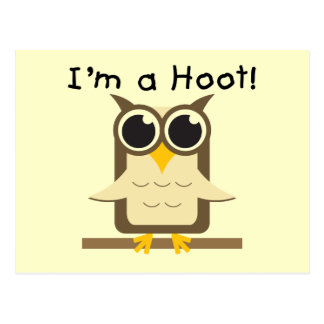 I'm a Hoot T-shirts and Gifts Postcard