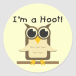 I'm a Hoot T-shirts and Gifts Sticker