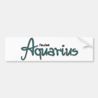 I'm A Hot Aquarius Bumper Sticker