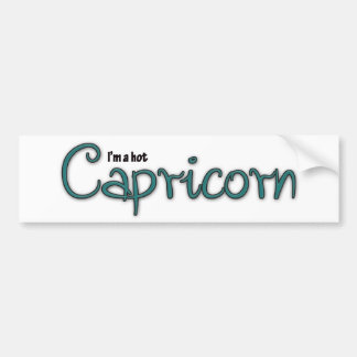 I'm A Hot Capricorn Bumper Sticker