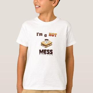 I'm a Hot Mess Funny Kids T-shirt. T-Shirt
