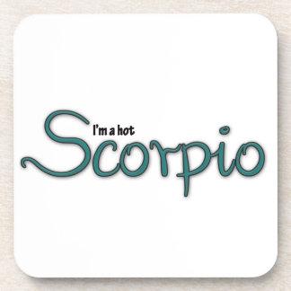 I'm A Hot Scorpio Drink Coaster