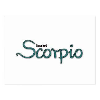 I'm A Hot Scorpio Postcard