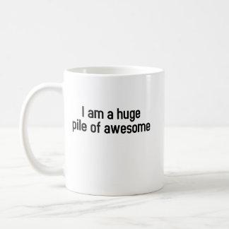 I'm a huge pile awesome (mug) coffee mug
