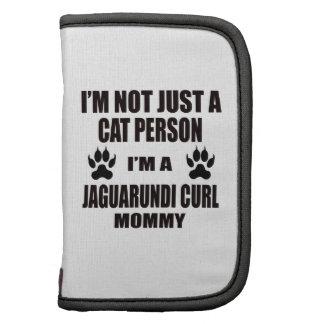 I'm a Jaguarundi curl Mommy Folio Planners