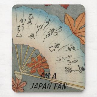 I'M A JAPAN FAN MOUSE PAD