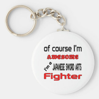 I'm a Japanese Sword Arts Fighter Keychain