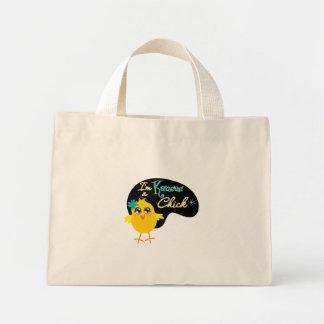 I'm a Kansas Chick Canvas Bags