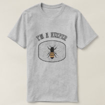 I'm a Keeper Beekeeper Mens Grey T-shirt