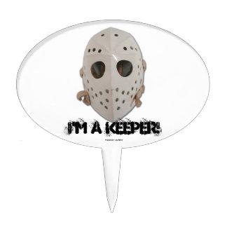 I'M A KEEPER! CAKE TOPPER
