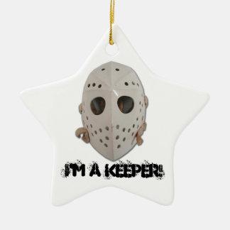 I'M A KEEPER! CHRISTMAS ORNAMENTS