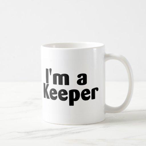 Im A Keeper Mugs
