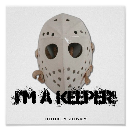 I'M A KEEPER! POSTER