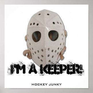I'M A KEEPER! PRINT