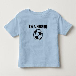 IM A KEEPER- SPORTY SLANG - SOCCER KIDS TEE