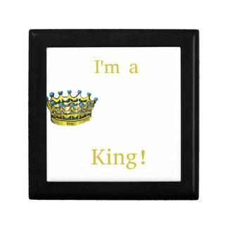 I'm A King Jewelry Box