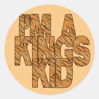I'm A Kings Kid Sticker