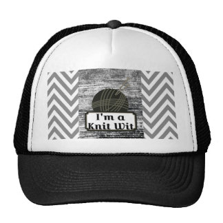 I'm a Knit Wit: A Creative Motiva Trucker Hat