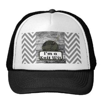 I'm a Knit Wit: A Creative Motiva Trucker Hat