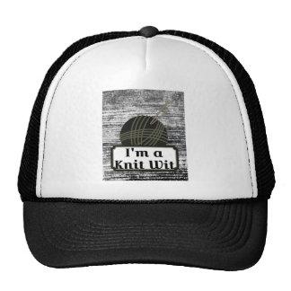 I'm a Knit Wit: A Creative Motivational Trucker Hat