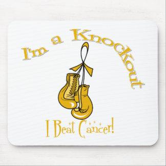 I'm A Knockout I Beat Appendix Cancer Mouse Pad