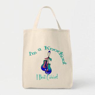 I'm A Knockout I Beat Thyroid Cancer Bag