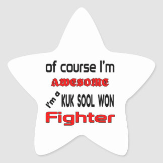 I'm a Kuk Sool Won Fighter Star Sticker