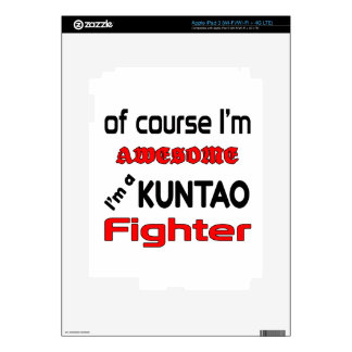 I'm a Kuntao Fighter Decal For iPad 3
