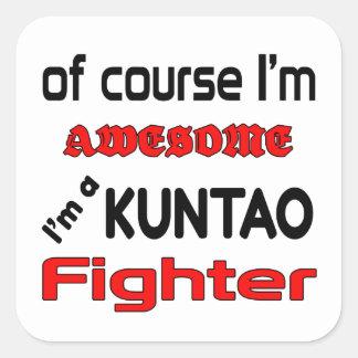 I'm a Kuntao Fighter Square Sticker