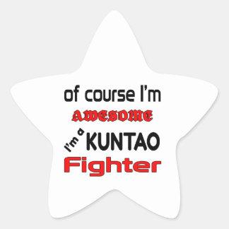 I'm a Kuntao Fighter Star Sticker