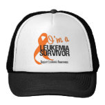 I'm a Leukemia Survivor Hats